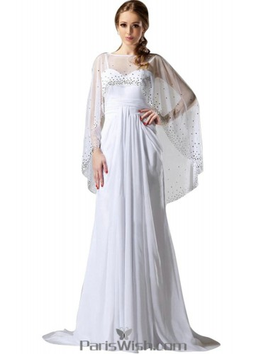 White Prom Dresses in Plus Size, Lace, Mermaid & Gold