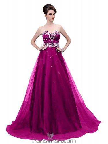 Two-Piece, Strapless and Plus Sized Ball Gowns