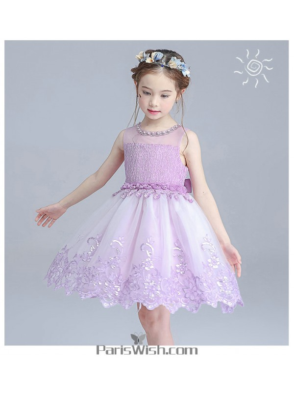 Embroidered lilac and white flower girl dresses online embroidered lilac and white flower girl dresses mightylinksfo