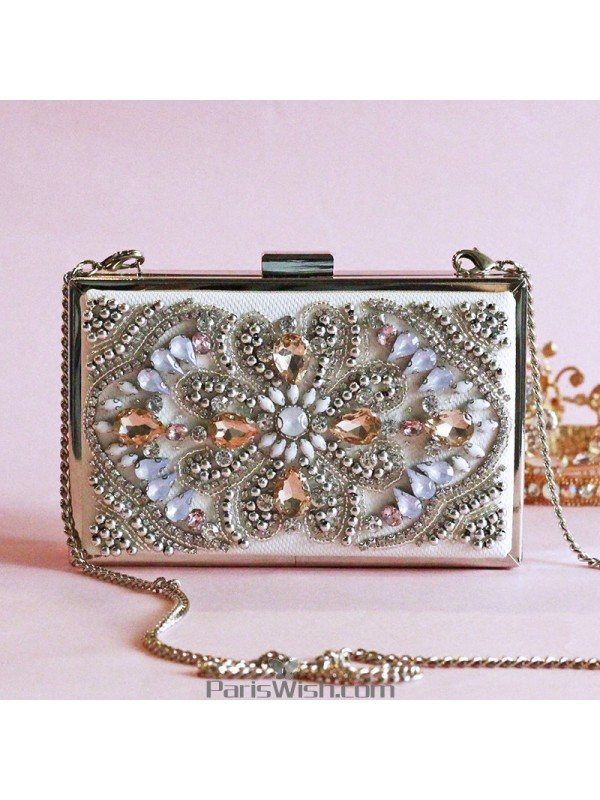 3372ec8643 Colorful Rhinestone Box Handbags For Evening Prom Cocktail Online