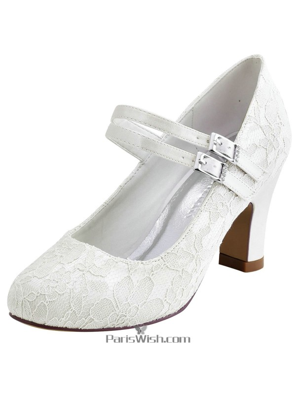 ankle strap wedding shoes toe ankle ivory lace bridal wedding shoes with 1313