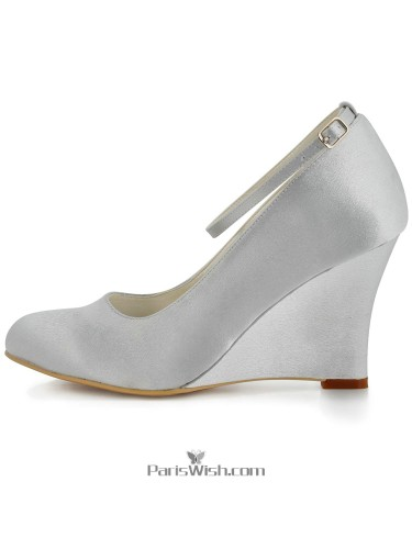 Wedges,Wedge Wedding Shoes,Wedge Evening Shoes - ParisWish