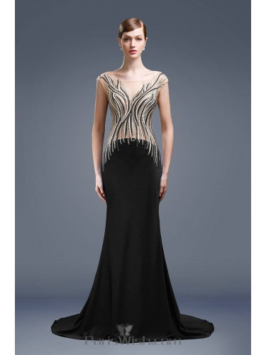Black Prom Dresses In Plus Size Lace Mermaid Silver Gold